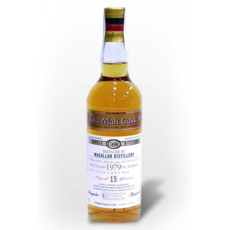WHISKY MACALLAN Old Malt Cask 15 AÑOS