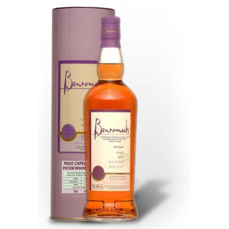 Whisky Benromach- Pago de los Capellanes