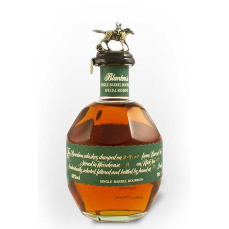 Whisky Bourbon Blanton's Green Label