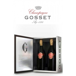 Gosset Grand Rose Caja 2 Botellas