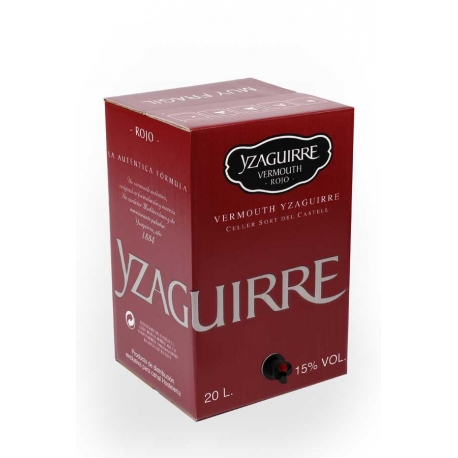 Vermouth Yzaguirre 1884 20 L