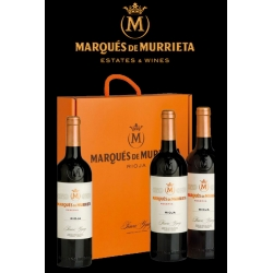 Caja de Marques de Murrieta Reserva 3 botellas