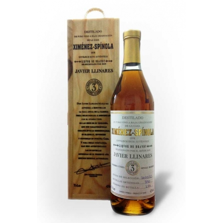 Brandy Ximénez-Spínola single Barrel Nº2